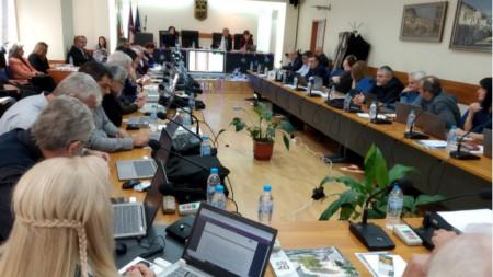 Заседание на Общинският съвет в Ловеч