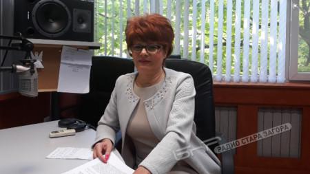 Вени Петрова, председател на Сдружението на хотелиерите и ресторантьорите.
