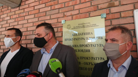 Георги Ташев, Румен Попов и Георги Гешев