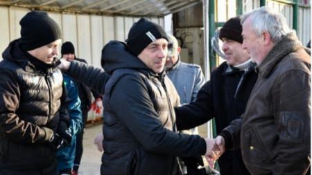 Илиан Илиев планира осем контроли.