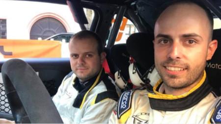 Daniel Popov (R) and Angel Bashkehayov