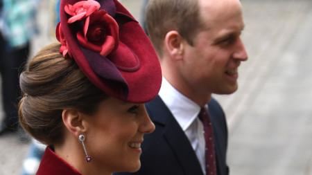 Херцогът и херцогинята на Кеймбридж Уилям и Катрин