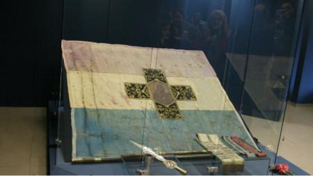 Най-голямата светиня на Българското освобождение – оригиналът на Самарското знаме.