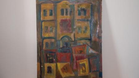 Една от наскоро откраднатите и намерени картини на Майстора.