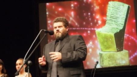 Виктор Бойчев в една от церемонните за Награда Пловдив