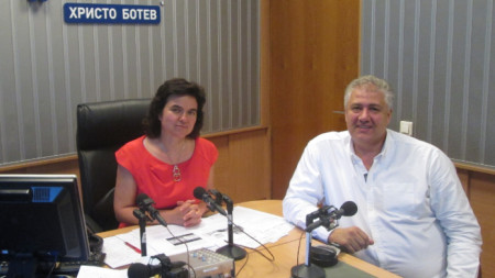 Нина Цанева и Асен Балтов