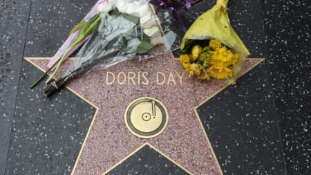 Звездата на Дорис Дей в Алеята на славата