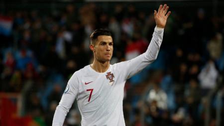 Роналдо вкара 14 гола тази година за Португалия.