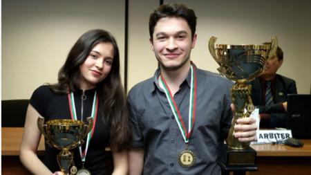Белослава Кръстева и Мартин Петров са новите шампиони.