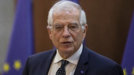Върховният представител на ЕС по външната политика и сигурността Жозеп Борел.