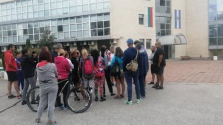 Протестът на Гребната база