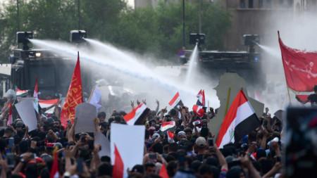 Протест в Багдад