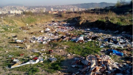 Нерегламентирани сметища в Благоевград