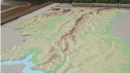 Релефната карта