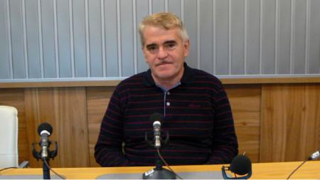 "Веселин Желев в студиото на програма ""Христо Ботев"""