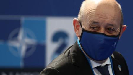 Френският външен министър Жан-Ив Льо Дриан