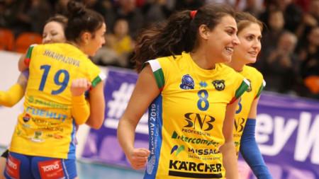 Волейболистките на Марица победиха Левски в първия мач от финалната серия