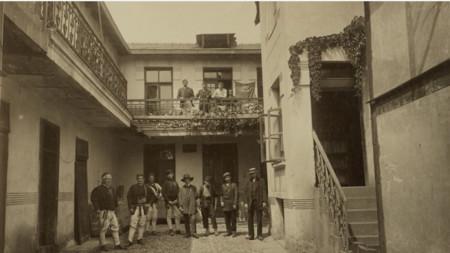 Первая болгарская фабрика для производства кунжутной пасты и кондитерских изделий. 1912 г.