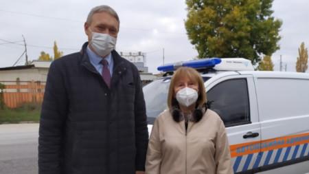 Бойко Рановски и Веска Георгиева - проверки на ДАИ и СИ