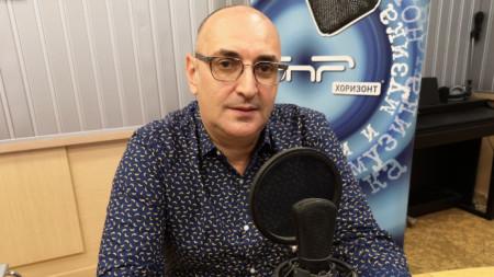 """Милен Керемедчиев в студио на програма """"Хоризонт"""""""