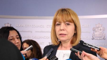Йорданка Фандъкова - кмет на София