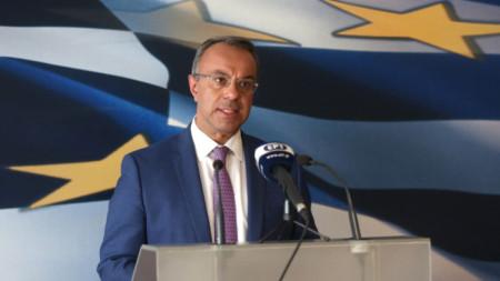 Христос Стайкурас - финансов министър на Гърция.