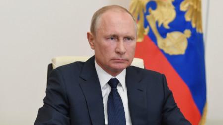 Владимир Путин - 11 май 2020 г.