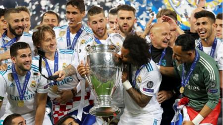 На 26 май в Киев Реал спечели за 13-и път титлата.в Шампионската лига.