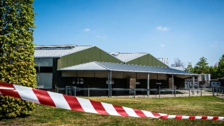 Затворена ферма за норки в Нидерландия.