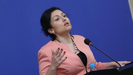 Министърът на земеделието Десислава Танева