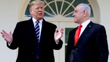 Доналд Тръмп и Бенямин Нетаняху