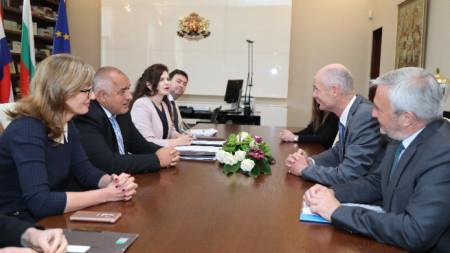 Премиерът Бойко Борисов и министърът на външните работи на Кралство Нидерландия Стеф Блок обсъдиха актуални въпроси от дневния ред на Европа, както и теми от взаимен интерес.