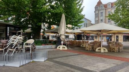 Затворени заведения в центъра на Пловдив