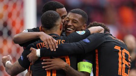 Отборът на Нидерландия записа трета поредна победа на европейското първенство по футбол
