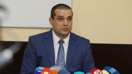 Георги Начев - директора на Агенцията за държавна финансова инспекция