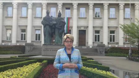 Посол России Элеонора Митрофанова