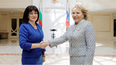 Τσβέτα Καραγιάντσεβα - Βαλεντίνα Ματβιένκο