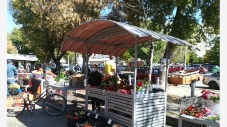 Съботният пазар във Видин