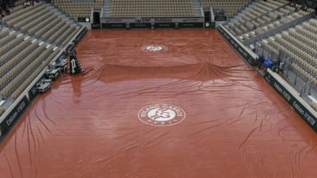 Дъждът отложи всички мачове в Париж.