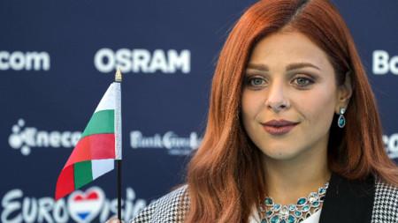 Виктория Георгиева представя България на