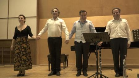 Ekaterina, Pancho, Alexander and Konstantin Wladigeroff