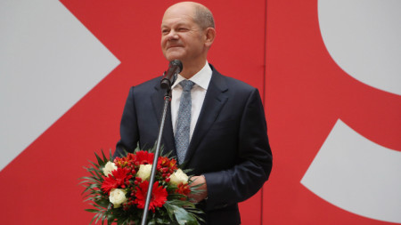 Олаф Шолц