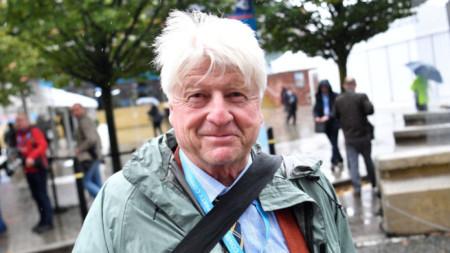 Стенли Джонсън, баща на британския премиер Борис Джонсън