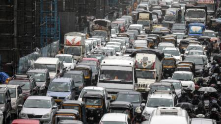 Задръстване в Мумбай