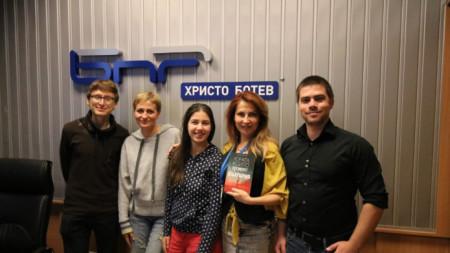 Даниел Пенев, Маргарита Доровска, Бистра Иванова, Ива Дойчинова и Венелин Добрев