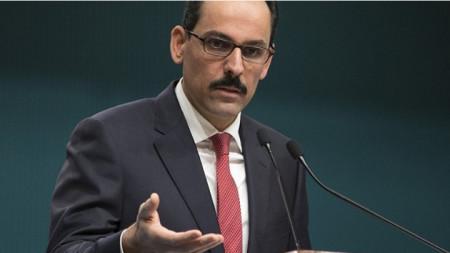Ибрахим Калън - говорител на турския президент Реджеп Ердоган.