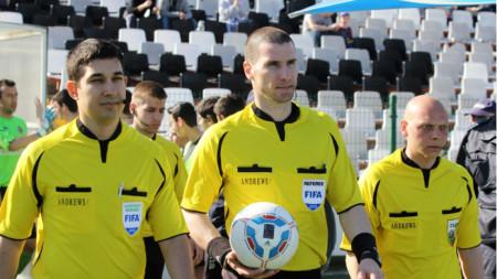 Георги Кабаков ще ръководи дербито в събота.