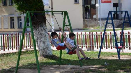 с. Лехчево, детска площадка