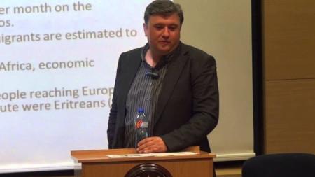 Политологът и журналист Явор Сидеров