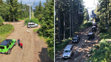 Проблемът с джиповете, които карат туристи и багаж в района на Седемте езера, не е решен.